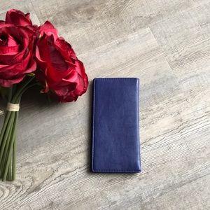 🎀Roots Blue Travel Lightweight Wallet